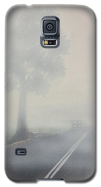 Foggy Road Galaxy S5 Case by Tim Mullaney