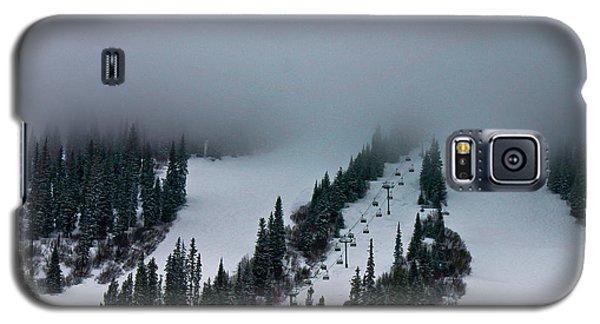 Foggy Ski Resort Galaxy S5 Case by Eti Reid