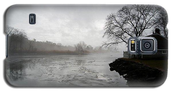 Foggy Southport Harbor Galaxy S5 Case