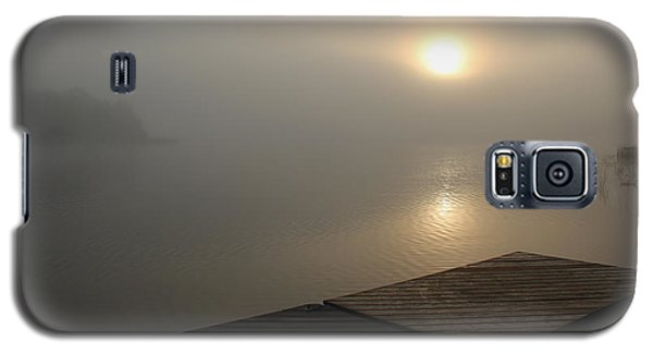 Galaxy S5 Case featuring the photograph Foggy Sunrise by Debbie Oppermann