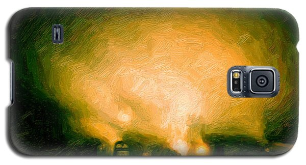 Foggy Switchyard Galaxy S5 Case