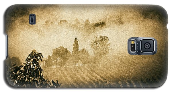 Galaxy S5 Case featuring the photograph Foggy Tuscany by Silvia Ganora