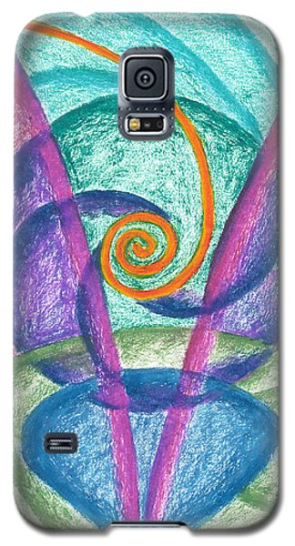 Fold Upon Fold Mandala Galaxy S5 Case