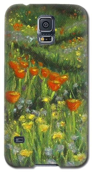 Poppy Trail Galaxy S5 Case