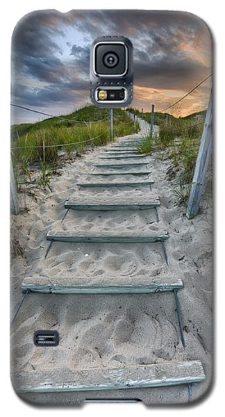 Galaxy S5 Case featuring the photograph Follow The Path by Sebastian Musial