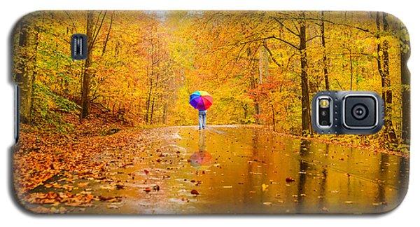 Follow The Rainbow Galaxy S5 Case by Mary Timman