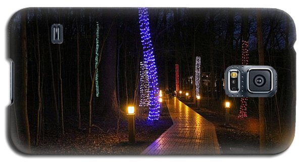 Galaxy S5 Case featuring the photograph Follow The Yellow Brick Road by Robert McCubbin