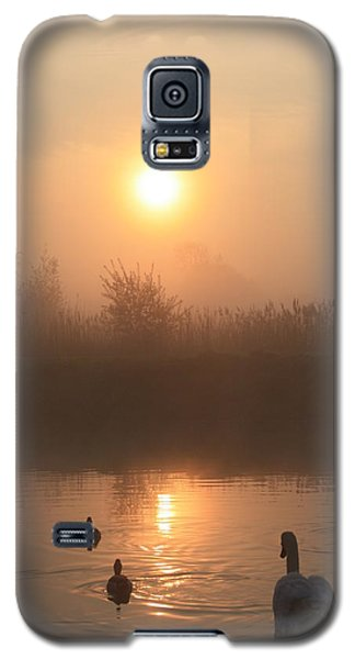 Follow Us Galaxy S5 Case by Linsey Williams