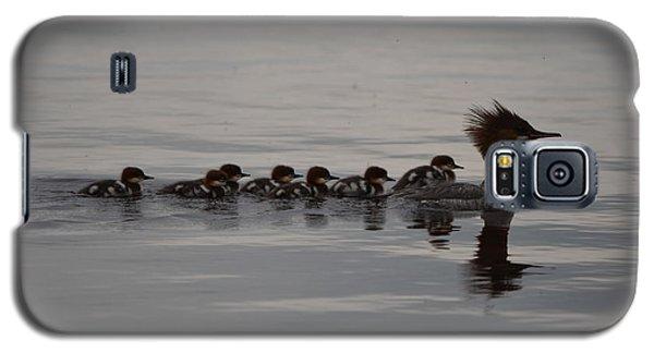 Following Mom Galaxy S5 Case by James Petersen