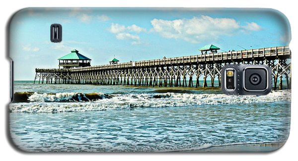 Folly Beach Fishing Pier Galaxy S5 Case