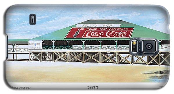 Folly Beach Original Pier Galaxy S5 Case