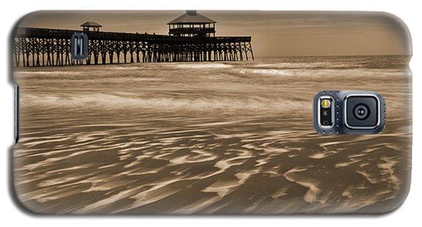 Folly Beach Pier Toned Galaxy S5 Case