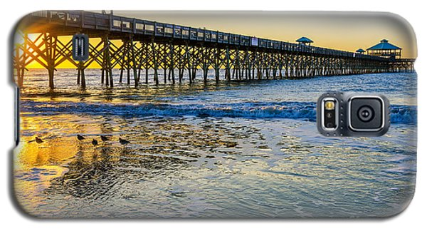 Folly Beach Sunrise Galaxy S5 Case
