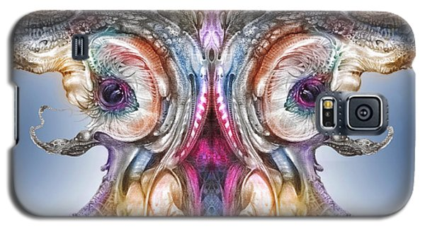 Galaxy S5 Case featuring the digital art Fomorii Incubator Remix by Otto Rapp