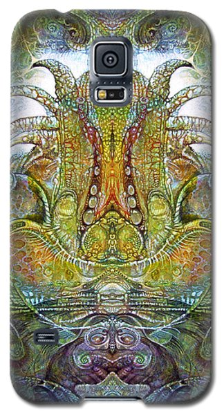 Galaxy S5 Case featuring the digital art Fomorii Throne by Otto Rapp