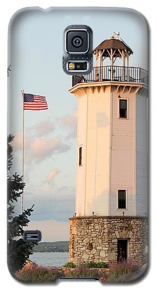 Fond Du Lac Lighthouse  Galaxy S5 Case by George Jones