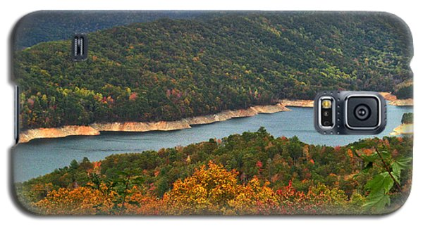 Fontana Lake In Fall Galaxy S5 Case
