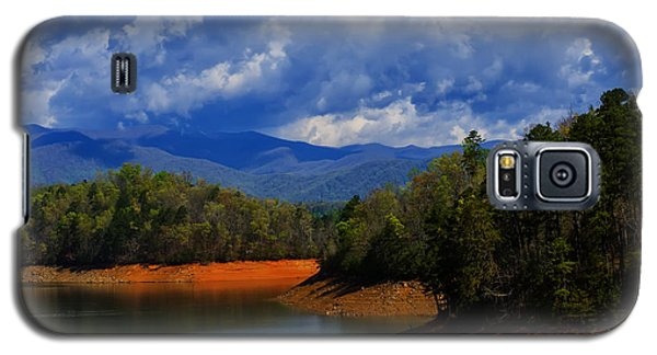 Fontana Lake Storm Galaxy S5 Case by Chris Flees