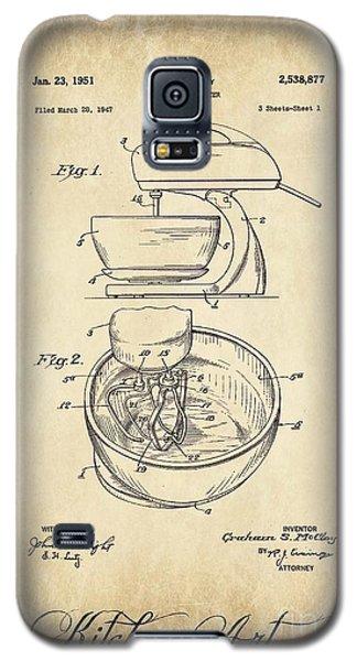 Food Mixer Patent Kitchen Art Galaxy S5 Case