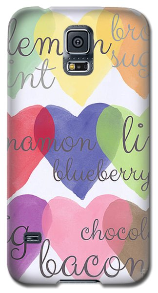 Foodie Love Galaxy S5 Case by Linda Woods