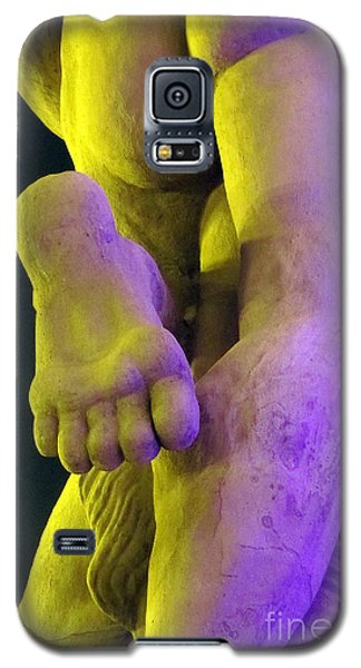 Galaxy S5 Case featuring the photograph Foot My Friend by Yury Bashkin