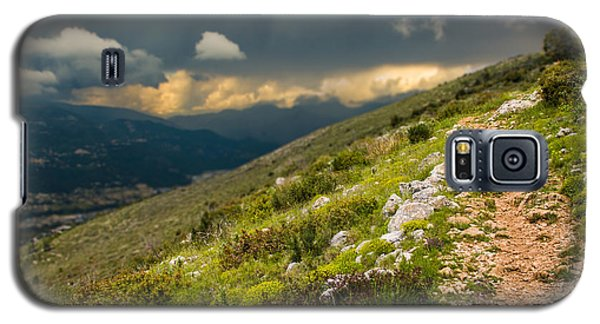 Foot Path Into The French Alps Galaxy S5 Case