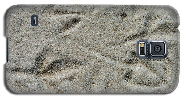 Foot Prints In The Sand Galaxy S5 Case