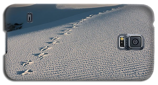 Foot Prints In The Sands Galaxy S5 Case