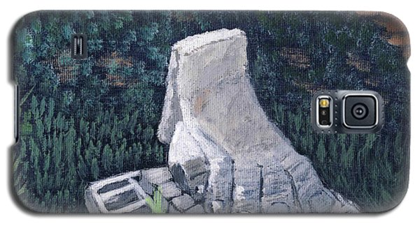 Foot Statue-caesaria Galaxy S5 Case