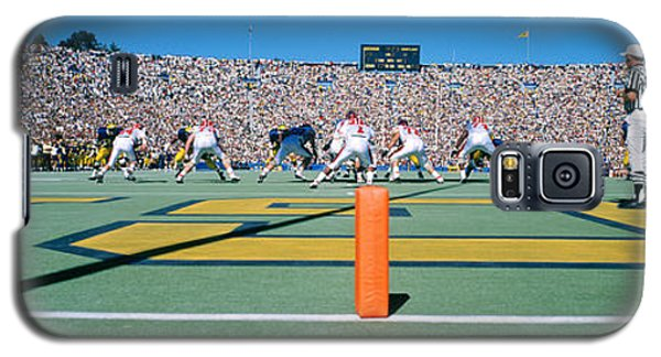 Football Game, University Of Michigan Galaxy S5 Case by Panoramic Images