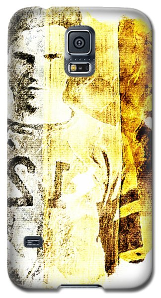 Galaxy S5 Case featuring the digital art Football Player by Andrea Barbieri