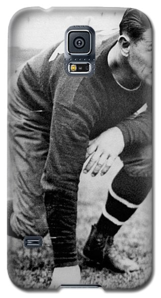 Football Player Jim Thorpe Galaxy S5 Case by Underwood Archives