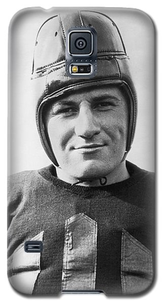 Football Player Portrait Galaxy S5 Case by Underwood Archives