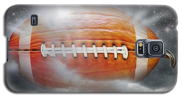 Football Pumpkin Galaxy S5 Case