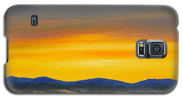 Foothills Sunrise Galaxy S5 Case