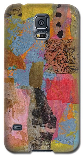 Galaxy S5 Case featuring the mixed media Footprints by Catherine Redmayne