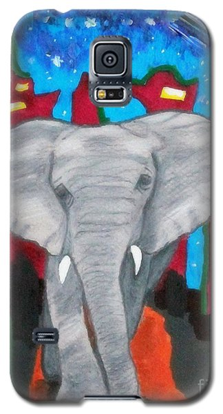 For The Love Of Elephants Galaxy S5 Case