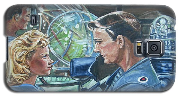 Galaxy S5 Case featuring the painting Forbidden Planet by Bryan Bustard