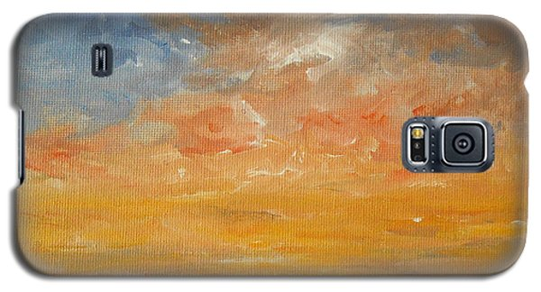 Galaxy S5 Case featuring the painting Force Of Nature 2 by Jane  See
