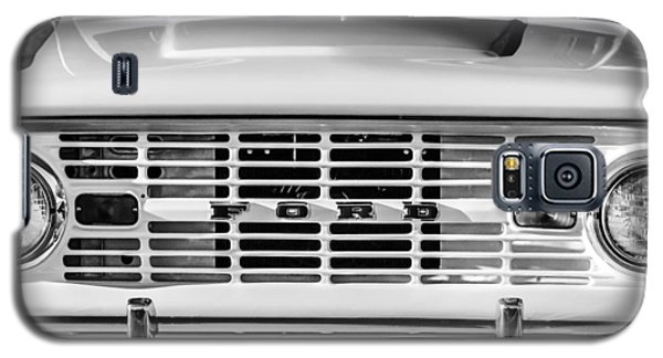 Ford Bronco Grille Emblem -0014bw Galaxy S5 Case