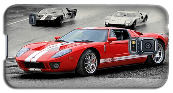 Ford Gt And Gt40 1966 Le Mans Win Galaxy S5 Case by Christopher McKenzie