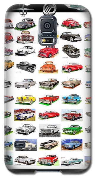 Four Decades Of Fords Poster Galaxy S5 Case