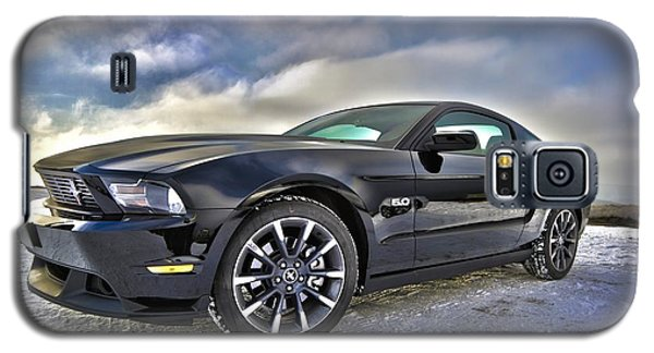 Galaxy S5 Case featuring the photograph ford mustang car HDR by Paul Fearn