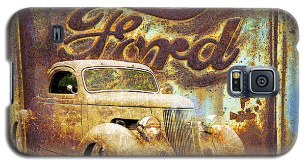Ford Coupe Rust Galaxy S5 Case