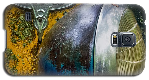 Ford V8 Emblem Galaxy S5 Case by Paul Freidlund