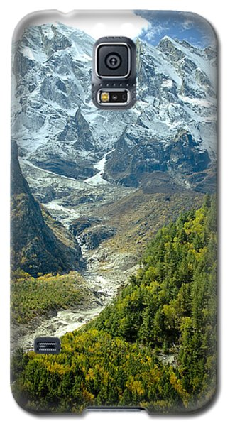 Forest And Mountains In Himalayas Galaxy S5 Case