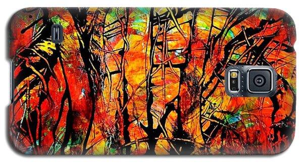 Forest Galaxy S5 Case by Carolyn Repka