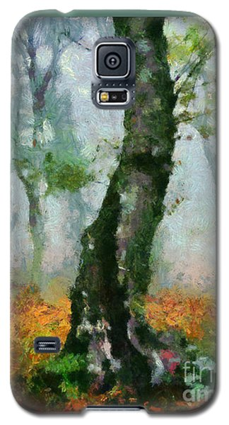 Forest Edge Galaxy S5 Case by Elizabeth Coats