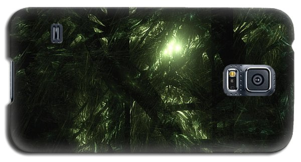 Galaxy S5 Case featuring the digital art Forest Light by GJ Blackman