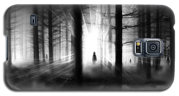 Galaxy S5 Case featuring the photograph Forest... by Mariusz Zawadzki